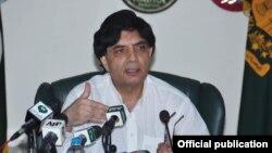 وزیر داخلہ نثار علی خان