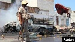 지난 1일 예멘 항구도시 아덴에서 차량 폭탄 테러가 발생했다. (자료사진)