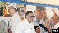Mauricio Funes fue electo como el primer presidente de izquierda de El Salvador en 2009.