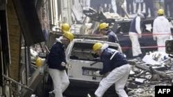Ստամբուլում 2003 թվականին իրականացված ահաբեկչական հարձակման հետևանքները (արխիվային լուսանկար)