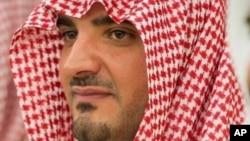 사우드 빈압둘라지즈 왕자.