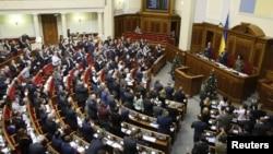 烏克蘭議會星期二廢除不結盟地位 尋求加入北約