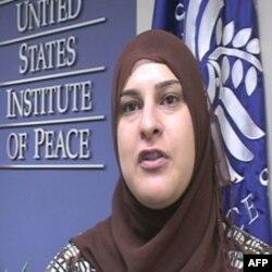 Manal Omar, Američki institut za mir