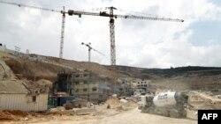 عکس تزئینی از شهرک سازی ها در نزدیکی کرانه غربی