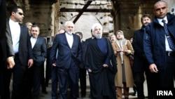 Rouhani Italy Zarif