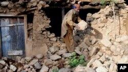 د دوشنبې ورځې د زلزلې له امله ١٢١ کسان په افغانستان کې وژل شوي او شاوخوا ٥٥٠ نور ټپیان شوي دي