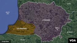 Lithuania-Kaliningrad border