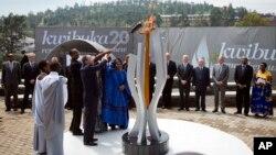 Un monument dédié au génocide à Kigali, au Rwanda