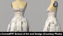 Masks wedding dress