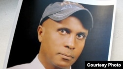 FILE - Ethiopian columnist Eskinder Nega was charged with being a dangerous individual bent on violent revolution. He is serving 18 years in prison. (Eskinder Nega / CPJ photo illustration)