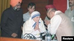 Majka Tereza i indijski premijer Narasima Rao