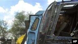 印度車禍數十人死傷。