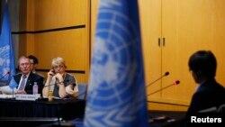 脫北者在聯合國作證 (資料圖片)