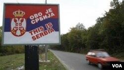 Perbatasan Kosovo dan Serbia (foto: dok). Warga Kosovo kini bebas memasuki dan bepergian di wilayah Serbia setelah kesepakatan yang ditengahi Uni Eropa.
