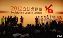 今年9月初的立法會選舉,泛民主派在地區直選失利,但保住議案否決權