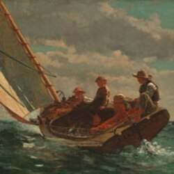 "Winslow Homer's ""Breezing Up"""