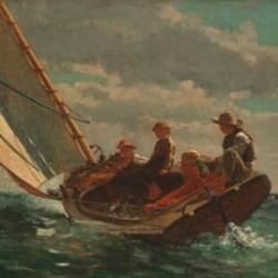 "Winslow Homer's ""Breezing Up"""