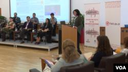 Konferensi kebebasan media di Tirana, Albania (foto: ilustrasi).