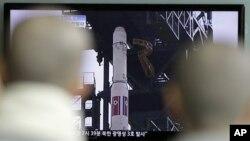 Meskipun peluncuran roket yang lalu gagal, Pyongyang bertekad akan terus berusaha meluncurkan roket untuk menempatkan satelitnya di orbit (foto: dok).