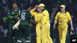 پاکستان نے آسٹریلیا کو ہرا دیا