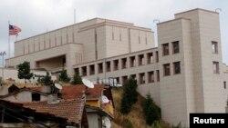 Foto de archivo del consulado de Estados Unidos en Estambul.