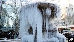Fontana u Brajant parku u Njujorku