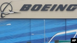 La chaine de montage de Boeing à Everett, dans l'Etat de Washington