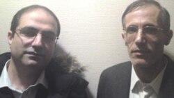 احمد ملکی (راست)، محمدرضا حیدری (چپ)