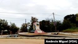 Praça na vila de Palma, Cabo Delgado