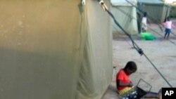 Centro de acolhimento de refugiados, Malanje