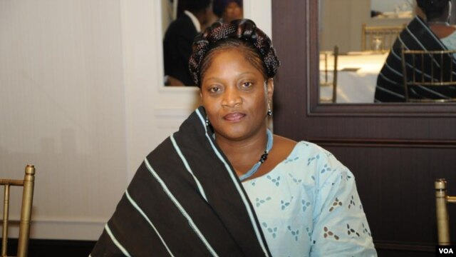 Senator Jewel Howard Taylor of Liberia