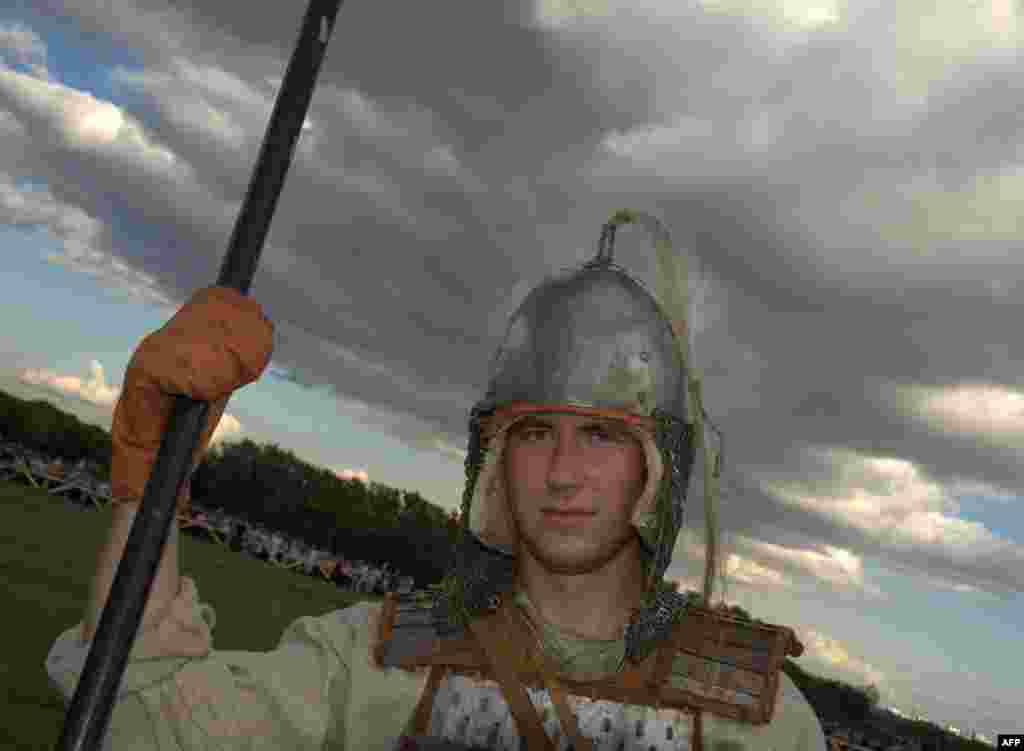 Славянский воин