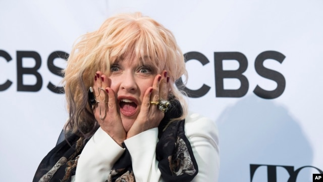 Cyndi Lauper attends the 2013 Tony Awards Meet the Nominees press reception on May 1, 2013 in New York.