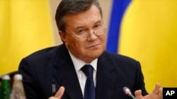 FILE - Viktor Yanukovych