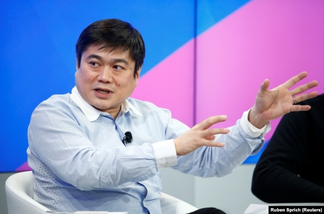 FILE PHOTO: Joi Ito, former director of the Media Lab of the Massachusetts Institute of Technology (MIT) attends the annual meeting of the World Economic Forum (WEF) in Davos, Switzerland, January 17, 2017.