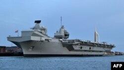 Tàu sân bay HMS Queen Elizabeth của Anh.