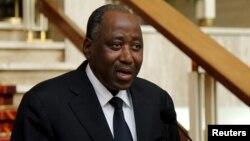 Amadou Gon Coulibaly nommé Premier ministre de la Côte d'Ivoire, le 6 janvier 2016.