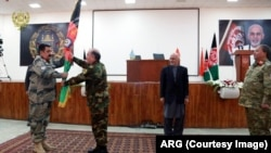 مسوولیت سرحدات افغانستان روز شنبه به صورت رسمی از وزارت داخله به وزارت دفاع انتقال یافت