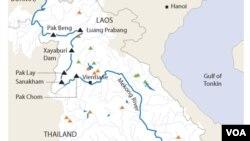 Map of Mekong.