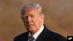 Trump acusó directamente a CNN, NBC, ABC y CBS a través de su cuenta de Twitter.
