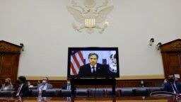 Blinken tokom jučerašnjeg svjedočenja pred Kongresom, 13. septembar