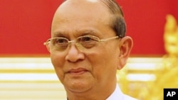 Burma President Thein Sein, May 14, 2012.