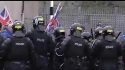 2013-01-06 美國之音視頻新聞: 北愛爾蘭因懸掛英國國旗問題引發暴力衝突