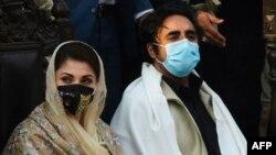 حکومت مخالف اتحاد پاکستان ڈیموکریٹک موومنٹ کی پانچ جماعتوں مسلم لیگ (ن)، جمعیت علمااسلام (ف)، پختونخواہ ملی عوامی پارٹی، نیشنل پارٹی اور بی این پی (مینگل) نے اپوزیشن کے 27 سینیٹرز پر مشتمل الگ بلاک بنانے پر اتفاق کیا ہے۔(فائل فوٹو)