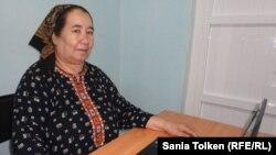 FILE - Soltan Achilova, 2011 photo.