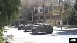 Сирия: танки вошли в Латакию