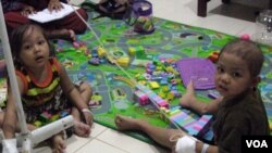 Pasien Kanker Anak di Rumah Sakit Dr. Sardjito, Yogyakarta (Foto: dok)