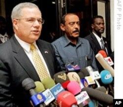 L'émissaire américain Scott Gration à Khartoum (Archives)