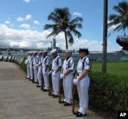 珍珠港太平洋舰队男女水兵
