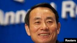 ທ່ານ Jiang Jiemin ອະດີດປະທານ ບໍລິສັດນໍ້າມັນຍັກໃຫຍ່ PetroChina ຂອງຈີນ. (ພາບຖ່າຍເມື່ອປີ 2008 REUTERS/Garrige Ho (CHINA) - RTR1YI35